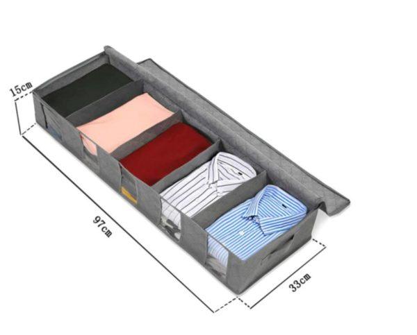 taille boite rangement sous lit