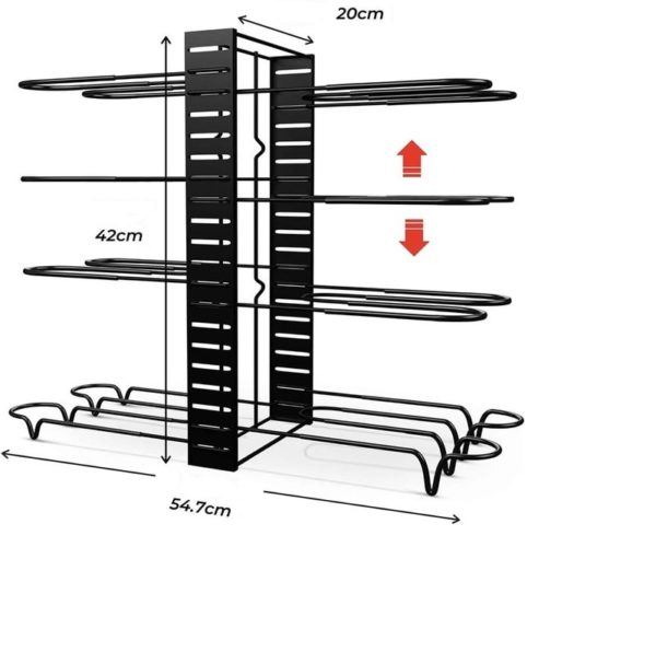 taille etagere casseroles